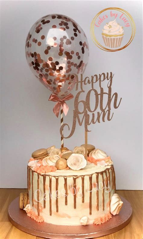 See more ideas about 60th birthday cakes, cake, birthday cake. Rose gold 60th birthday drip cake | 60th birthday cake for mom, Birthday cake for mom, 60th ...