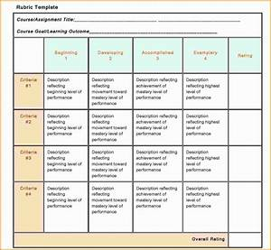 hasil pencarian blank grading templates distributor With rubric template maker