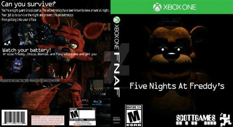 If Fnaf Was On The Xbox By Mariosonicfanxd On Deviantart