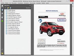 Mahindra Xuv500 - Service Manual
