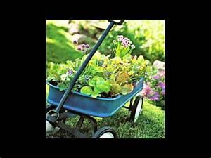 Gartenideen Zum Selber Machen : gartenideen mit alten haushaltssachen oder deko sch tze ~ Watch28wear.com Haus und Dekorationen