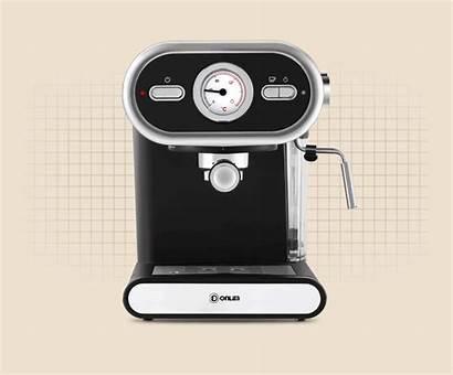 Coffee Donlim Machine Dl Espresso Italian Automatic