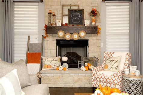 fall mantel decorations  ways hoopla  krista