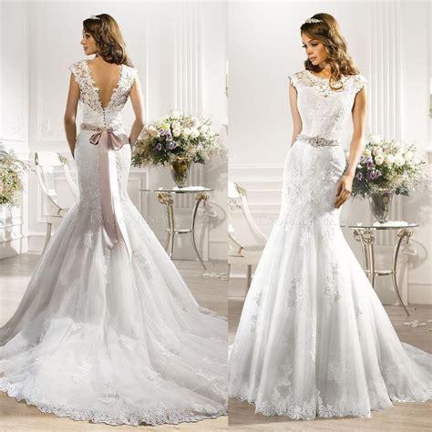 2016 Rhinestone Couture Designer Wedding Dresses Mermaid