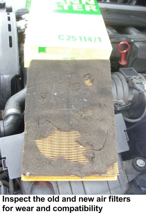 pictorial diy bmw  engine air filter remove replace