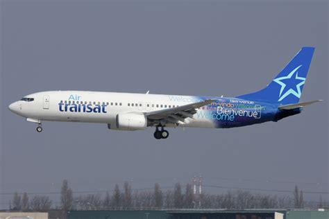 flotte air transat canada boeing 737 air transat m 233 dias aeroweb fr net