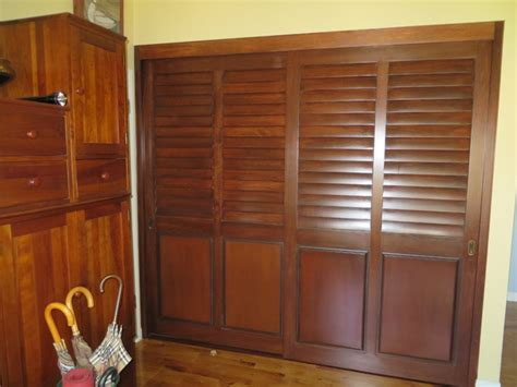 plantation shutters closet doors