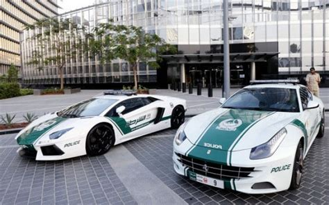 Dubai Has The World's Fastest, Most Expensive Police Car
