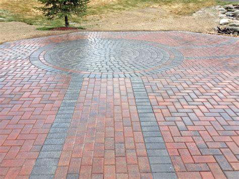 paver designs paver patio photos groundhog landscaping