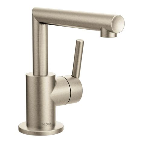 Brushed Nickel Bathroom Faucets by Arris Brushed Nickel One Handle Bathroom Faucet S43001bn