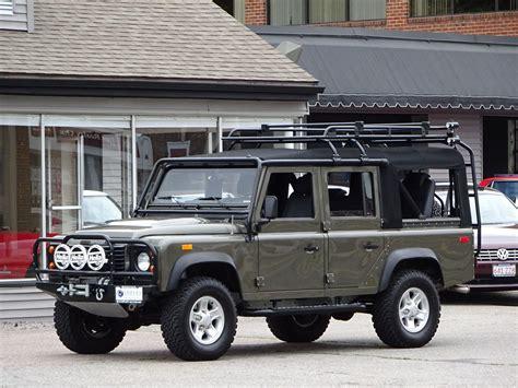 land rover nas defender  convertible auto