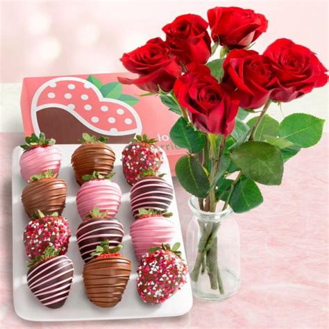 chocolate dipped valentine love strawberries  fresh