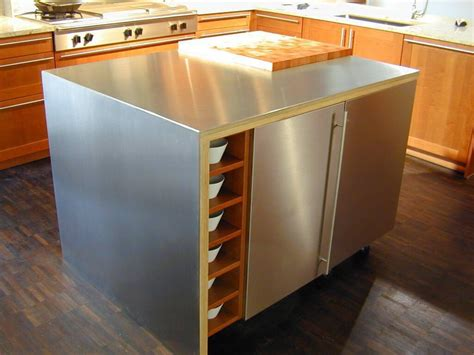 stainless steel kitchen island with butcher block top amazing stainless steel kitchen island designs the