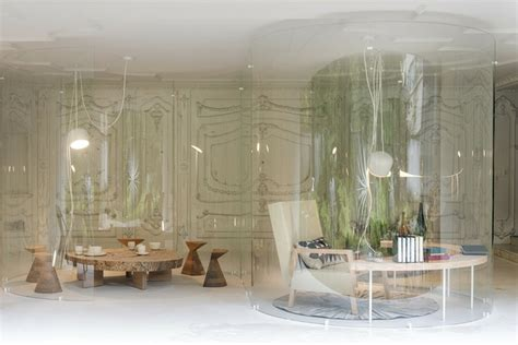 cloison de bureau en verre cloison en verre design connecte intérieur et extérieur