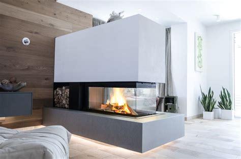 kaminofen drei seiten glas wohn design