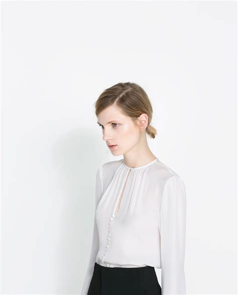 top button detail draping 100 mulberry silk my