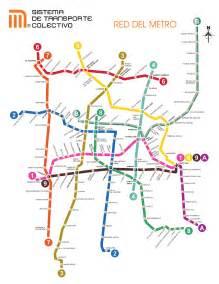 Plan De Metro Df Subway Application