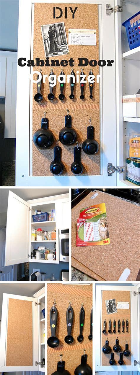 diy kitchen cabinet organizers diy cabinet door organizer 6826