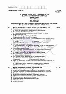 Previous Year Exam Questions Of Electrical Engineering