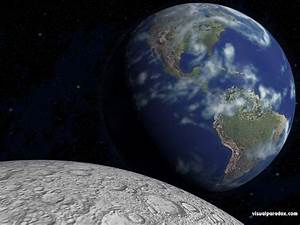 Terre De Lune Eschau : fond d 39 cran la terre vue de la lune gratuit fonds cran ~ Premium-room.com Idées de Décoration