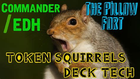 squirrel deck mtg 2015 tribal token squirrels rhys the redeemed mtg