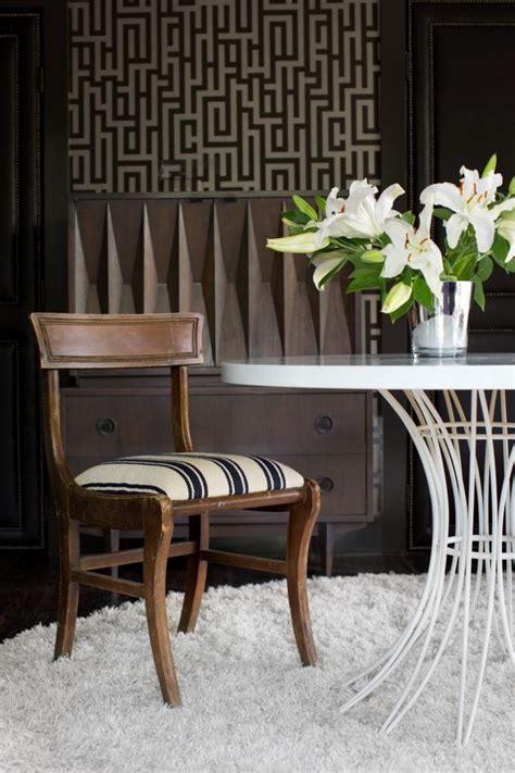 recouvrir chaise comment recouvrir une chaise avec un tapis tissé à plat