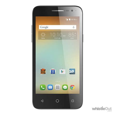one touch phone alcatel onetouch elevate compare prices plans deals