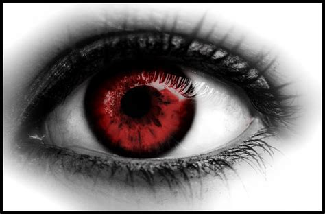Red Eye By D4doggy On Deviantart
