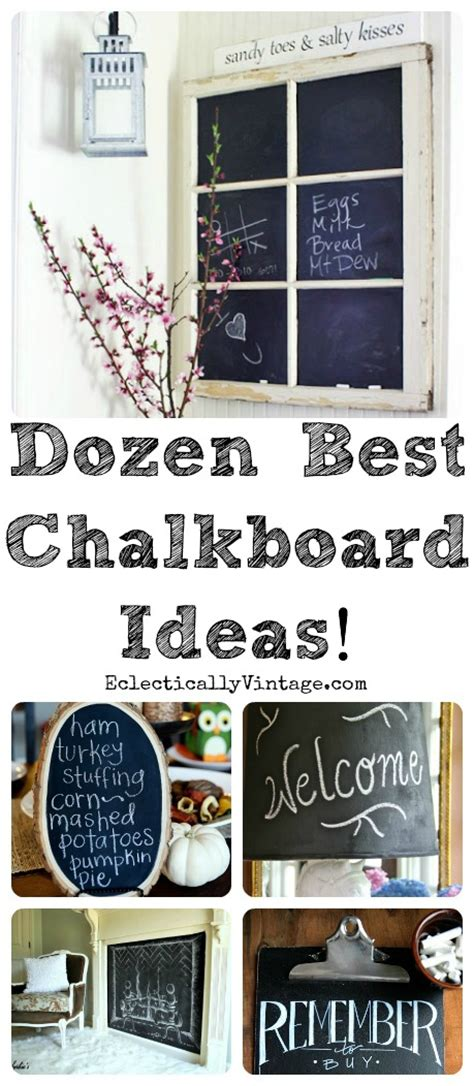 unique chalkboard ideas top 12 chalkboard ideas at eclectically vintage