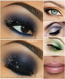 10 stylishly festive christmas makeup ideas diy crafts