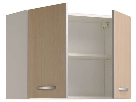 elements cuisine conforama meuble haut 80 cm 2 portes spoon color coloris conforama