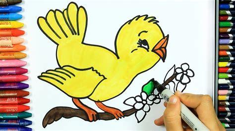 wie zeichnet vogel ausmalen kinder hd