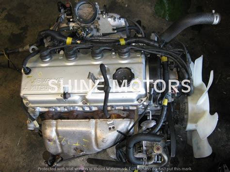 Mitsubishi 4g64 by Used Engine Mitsubishi 4g64 2 4 Carb Petrol Colt Shine