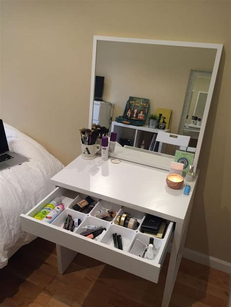 ikea micke white vanity desk 25 best ideas about ikea vanity table on