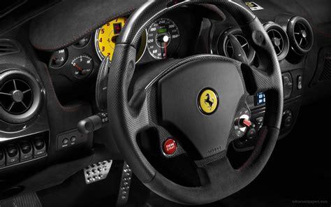 Ferrari Scuderia Spider 16m Interior Wallpaper Hd Car