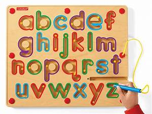 11 best line tracing sheets images on pinterest learning With magnetic alphabet letters and board