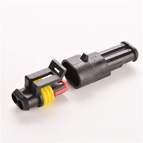 Electrical Wire Connector Plug Car Auto Set Pin Way
