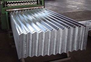 galvanized aluminium corrugated sheet metal roofing for With corrugated metal siding for sale