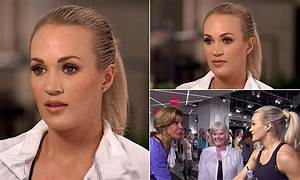 Carrie Underwood Shows Scars In First Tv Interview Since