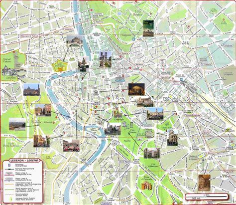 chambres d hotes lisbonne carte de rome plan des 120 principaux lieux