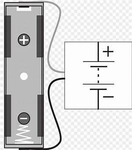 Electronic Symbol Battery Holder Wiring Diagram Circuit