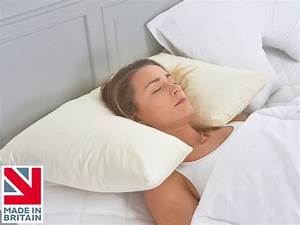 inset neck and head support spinal allignment side sleeper With best neck support pillow for sleeping