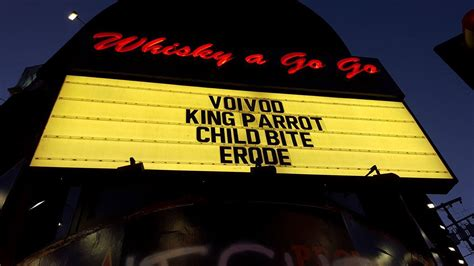 Voivod Visits Los Angeles On 'post Society' Tour With King