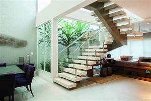 Living Room With Garden Designs