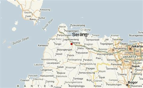 serang location guide