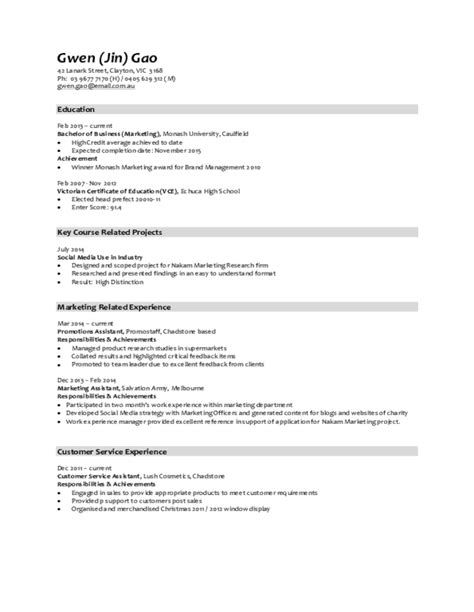 Free Resume Upload Application by Marketing Resume Sles Free Templates In Pdf And Word