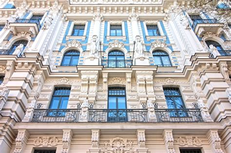 Art Nouveau Architecture In Riga & Where To Find It