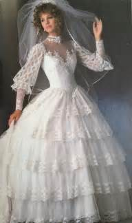 ugliest wedding dresses 80s fashion exclusive the 11 worst wedding gowns bridesmaid dresses from the 1985 s