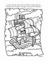 Pirate Coloring Pages Printables Ship Piraten Kleurplaat Piratenboot Schatkaart Crew Crafts Theme Colouring Ships Pirates Gratis Met Birthday Adult Cut sketch template