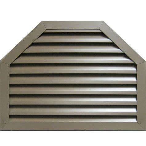 new concept louvers gvaot850 octagon top aluminum gable